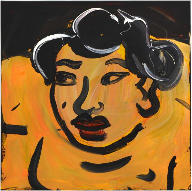 , 'Orange Sumo,' 2018, Ethan Cohen New York