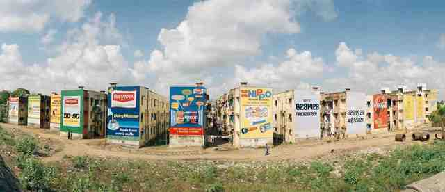 , 'India, Chennai, Advertisements.,' 2001, Anastasia Photo