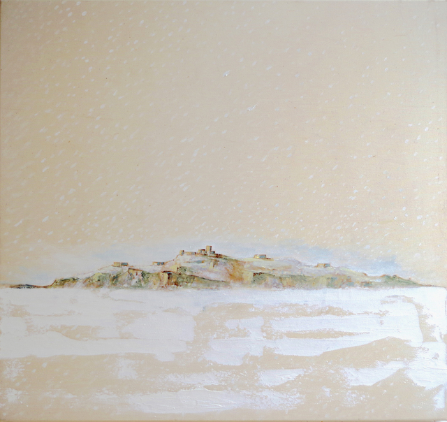 , 'Island in the Snow,' 2015, MIYAKO YOSHINAGA