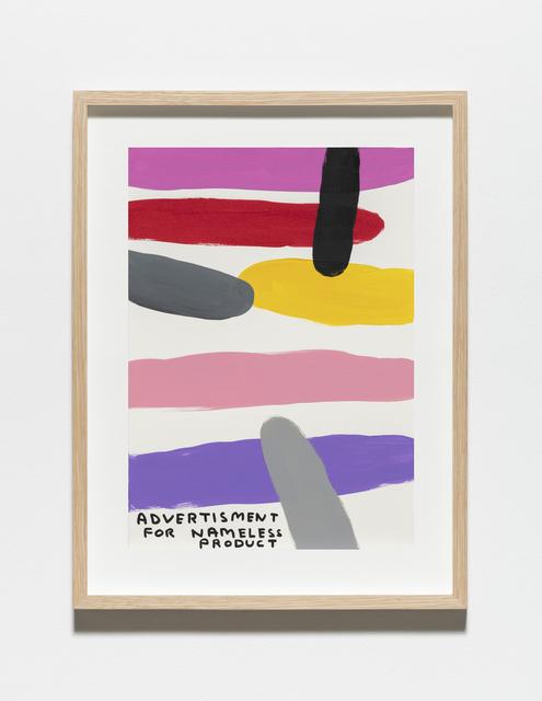, 'Untitled (Advertisment),' 2019, Galleri Nicolai Wallner
