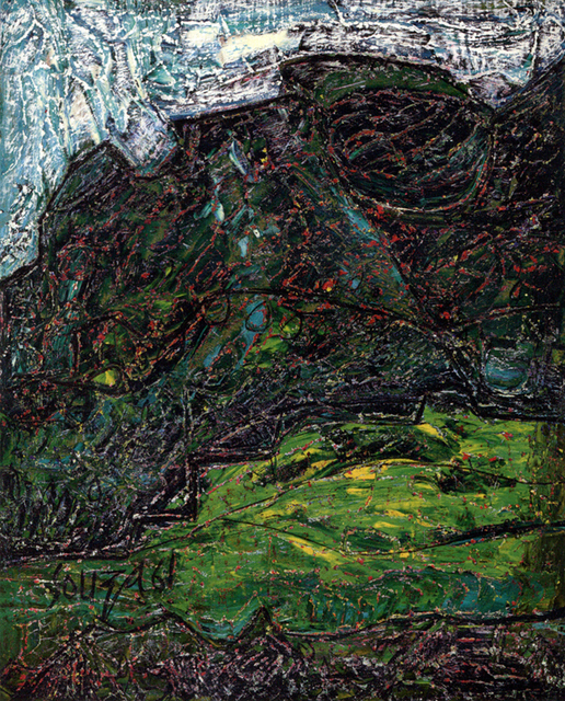 , 'Landscape (Green Shrub),' 1961, Aicon Gallery