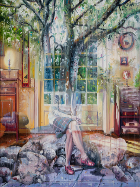 , 'The Woman and the Tree,' 2017, Galeria Contrast