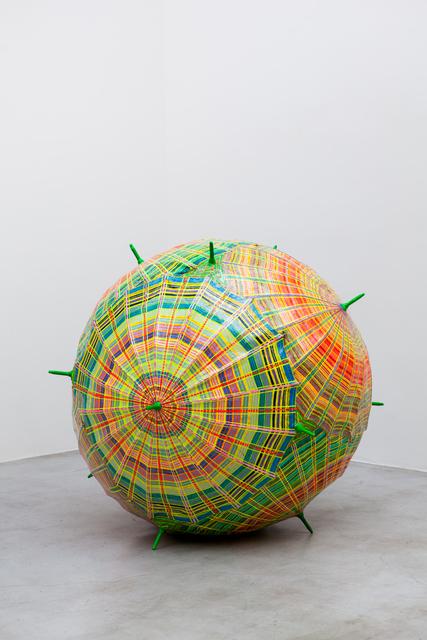 , 'Satélite Novelo [Satellite Clew],' 2013, Zipper Galeria