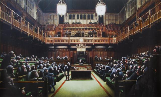 Banksy, 'Monkey Parliament', 2009, Julien's Auctions