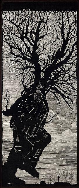William Kentridge, 'Walking Man (Krut P. 65)', 2000, Doyle