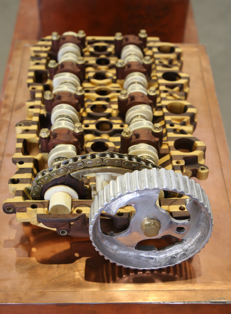 Eric Van Hove, 'Untitled (Peugeot-Citroën HDI Diesel Camshaft Housing & Rocker Assembly)', 2014, Richard Taittinger Gallery