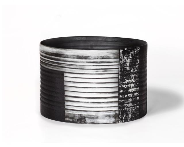 , 'Black / White Bucket Vessel,' , Hostler Burrows