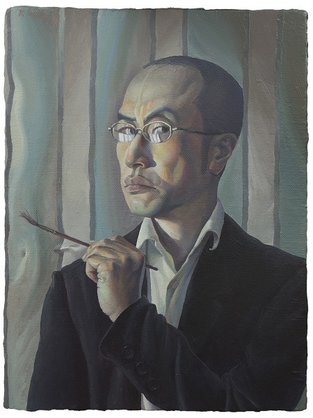 , 'Self-portrait, Frowning 皱眉的自画像,' 2018, Star Gallery