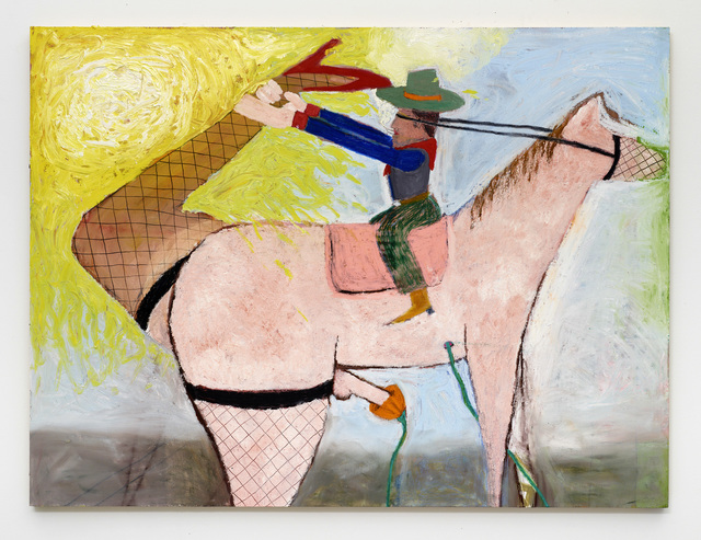 , 'Ride 'em Cowboy,' 2017, Diane Rosenstein