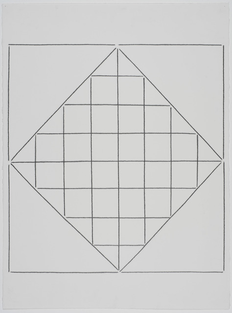 Linda Karshan, '14/11/13 I', 2013, Drawing, Collage or other Work on Paper, Graphite on Arches paper, Redfern Gallery Ltd.
