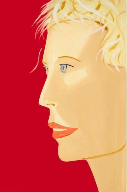 Alex Katz, 'Coca Cola Girl (red)', 2018, Print, Archival pigment print, Frank Fluegel Gallery