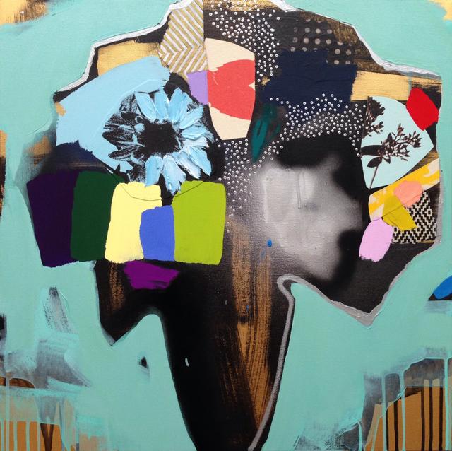 , 'Vase of Flowers (jade green),' 2017, Newzones