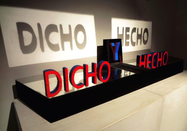 , 'Dicho y hecho,' 2017, ArtLabbé Gallery