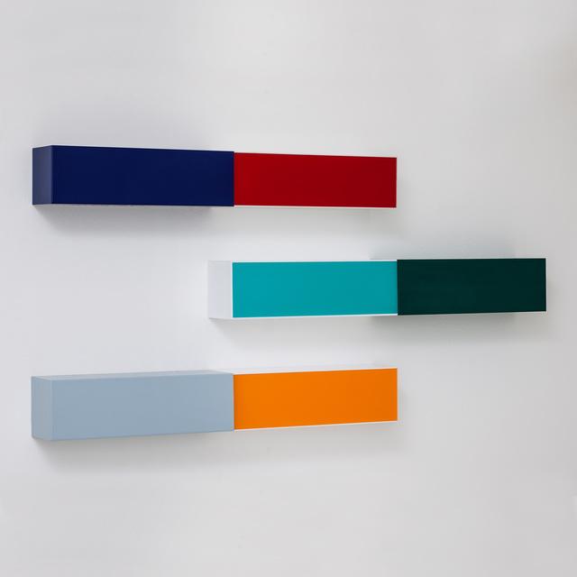 , 'M lanterna amarelo, vermelho, turquesa,' 2015, Carbono Galeria