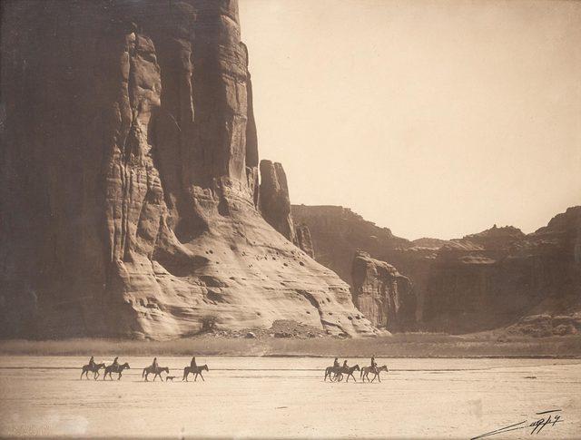 Edward Sheriff Curtis, '[Cañón de Chelly', 1904, Doyle