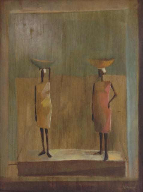 , 'Two Sellers,' 1973, Myriam Nader Haitian Art Gallery