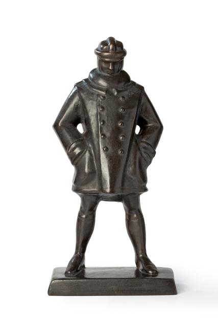 Rudolf Belling, 'Statuette of Aviator', 1917, Art 1900
