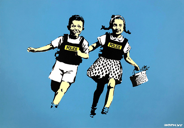 Banksy, 'Jack and Jill', 2005, End to End Gallery