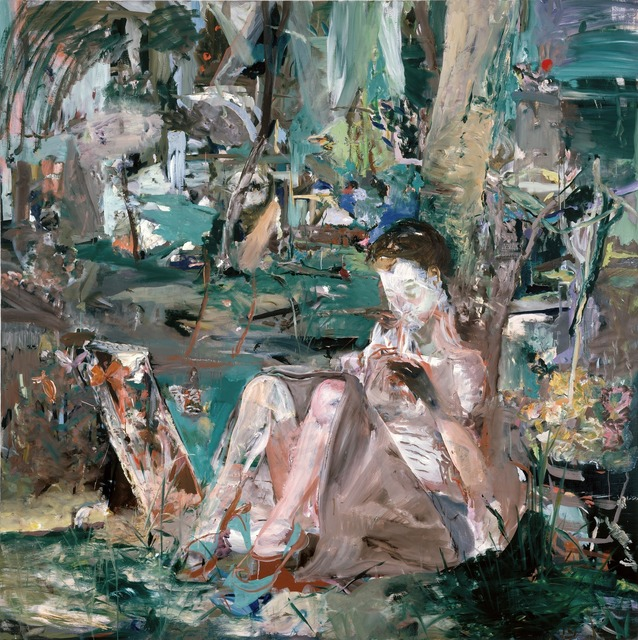 Cecily Brown, 'Halfway to a Threeway', 2005, Gagosian