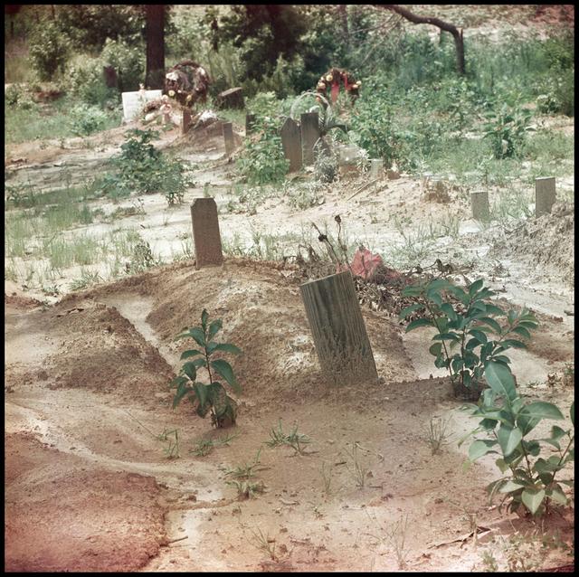 Gordon Parks, 'Untitled, Shady Grove, Alabama (Grave Site 37.057) ', 1956, Robert Klein Gallery