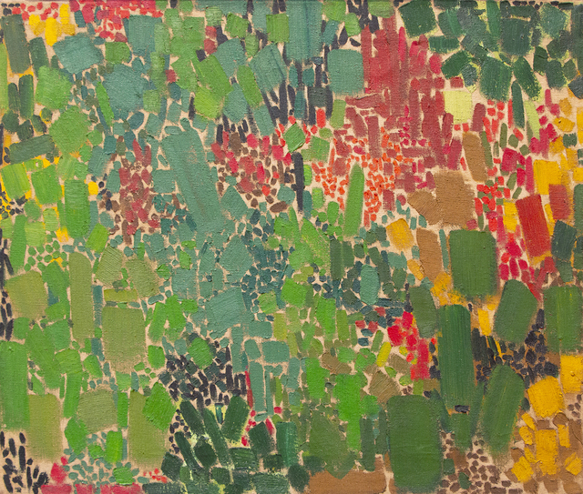 Lynne Drexler, 'Untitled', 1962, Painting, Oil on canvas, Jody Klotz Fine Art
