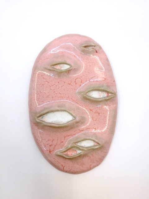 , 'Six-eyed Mask,' 2017, V1 Gallery
