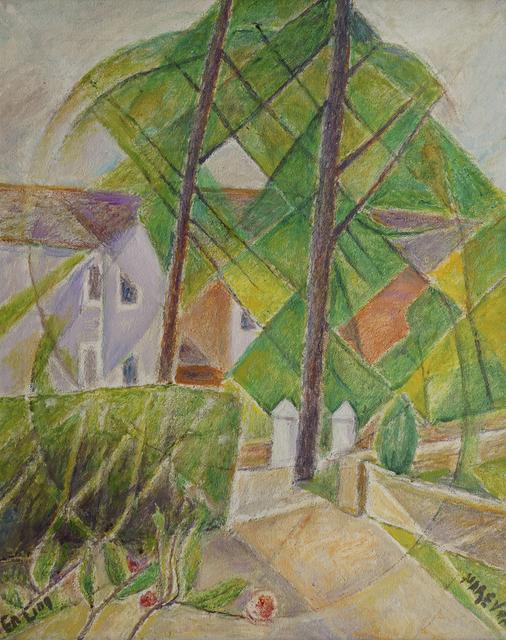 Marie Vorobieff Marevna, 'Front Garden, Ealing', Roseberys