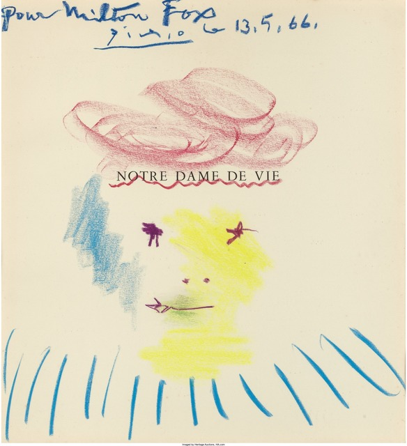 Pablo Picasso, 'Drawing for Milton Fox', 1966, Heritage Auctions