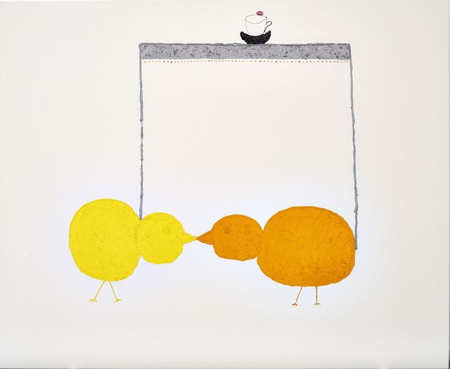 , 'The Kiss,' 2015, Nicodim Gallery