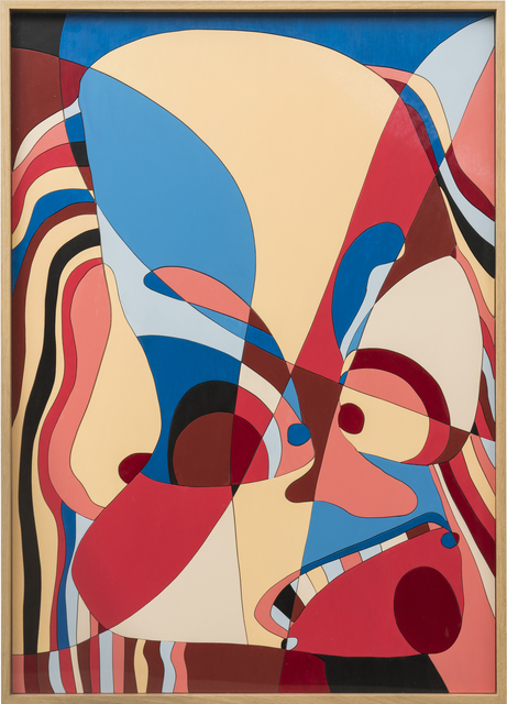 , 'Facial Jigsaw Puzzle C,' 2015, Ruttkowski;68