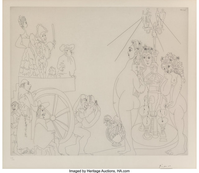 Pablo Picasso, 'Pl. 181, from 347 series', 1968, Heritage Auctions