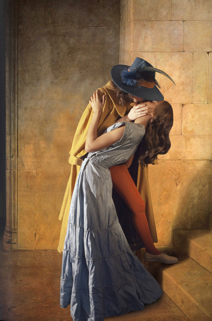 , 'Ode to Hayez's The Kiss,' 2011, Jonathan Ferrara Gallery