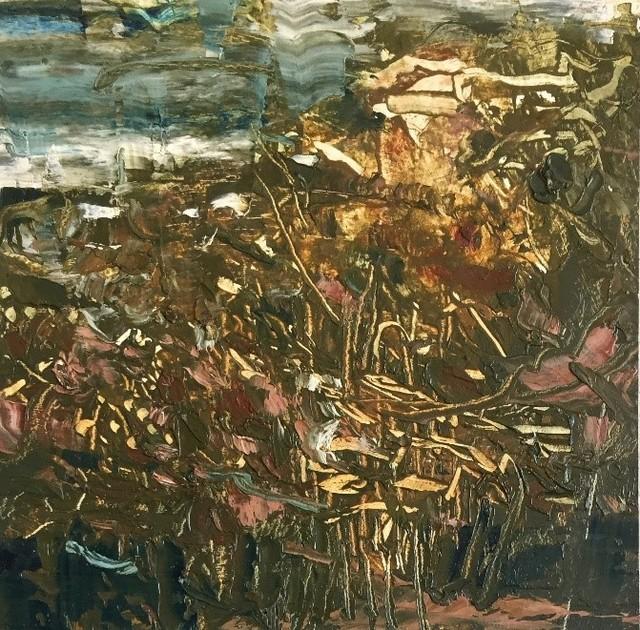 , 'Nepal Study 1 ,' 2016, Seraphin Gallery