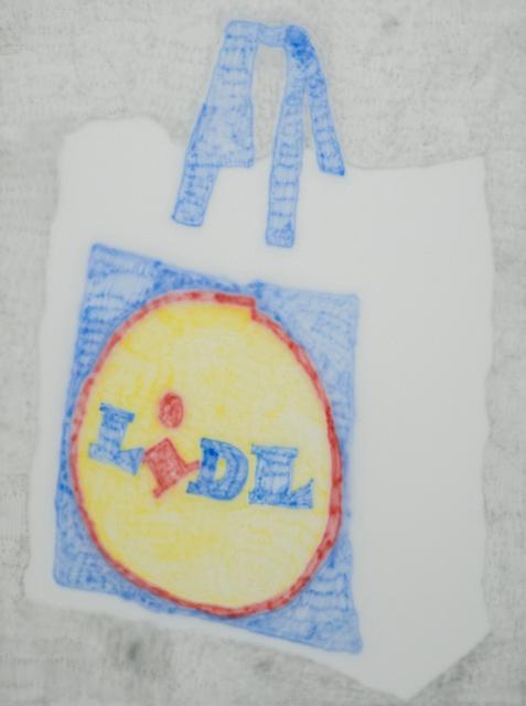 , 'LIDL bag,' 2017, Ruttkowski;68