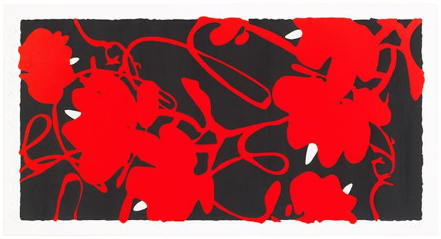 Donald Sultan, 'Lantern Flowers Red, Feb 17', 2012, Newzones