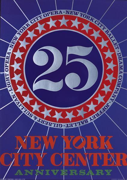 , '25th Anniversary New York City Center of Music and Drama,' 1968, GALLERY SHCHUKIN
