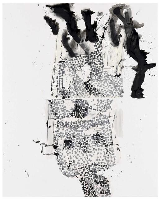 , 'Ein 70iger Modell erscheint mit Schatten,' 2011, Contemporary Fine Arts