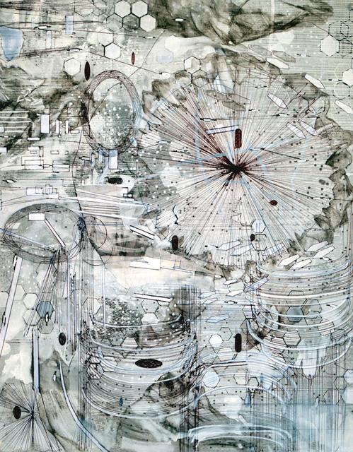 , 'Post Digital Landscape 1,' 2018, ArtHelix Gallery