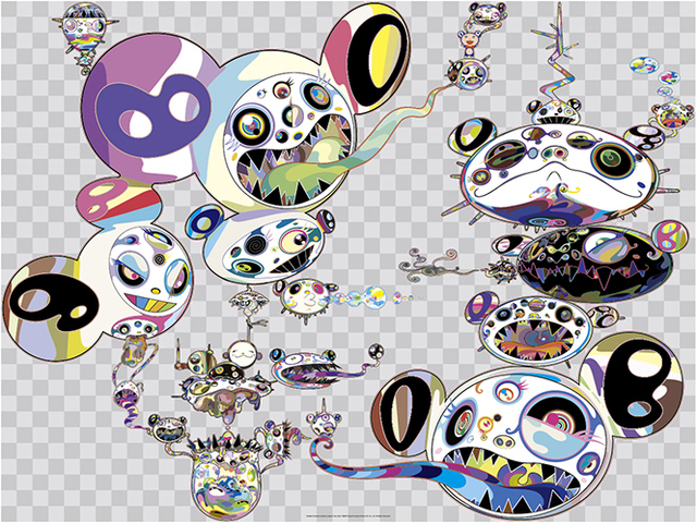Takashi Murakami, 'Another Dimension Brushing Against Your Hand', 2016, Dope! Gallery