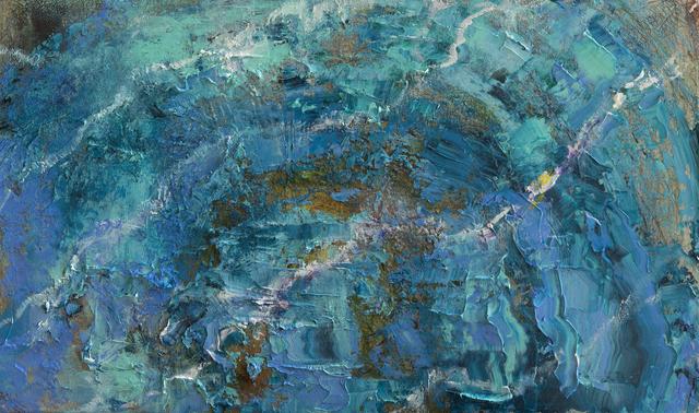 , 'Water Study, Salda Lake, Martian Affinities,' 2019, LeMieux Galleries