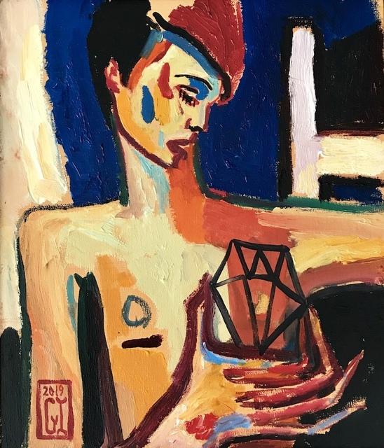 Gonzalo Ilabaca, 'El diamante y la silla', 2019, Kunst.cl