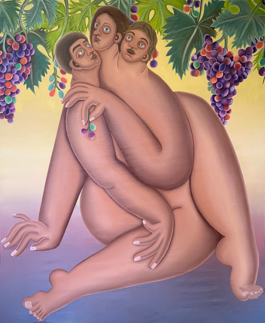 Georgia Dymock, 'Waiting for Bacchus', 2021, Painting, Oil on canvas, Maggio Art Consultancy