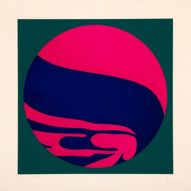 Jack Youngerman, 'Untitled', 1974, Print, Serigraph in colors on wove paper, Heritage Auctions