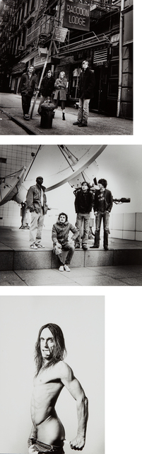 Renaud Monfourny, 'Three works: (i) Sonic Youth; (ii) The Libertines; (iii) Iggy Pop', 2007, Phillips