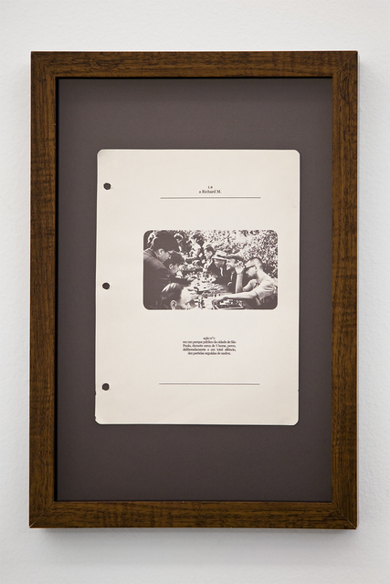, 'A Richard M.,' 2010, Athena Contemporânea
