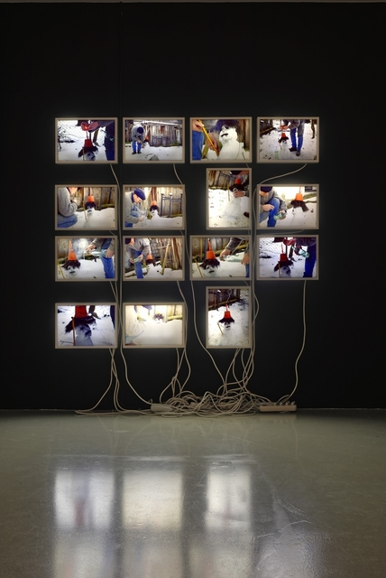 , 'HOME VOODOO I   Eine (beinahe) posthume Handlung,' 2004, Galerie Krinzinger