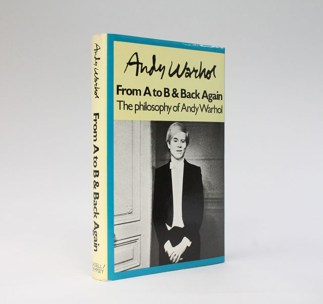 , 'The philosophy of Andy Warhol (from A to B and back again),' 1975, Joseph K. Levene Fine Art, Ltd.