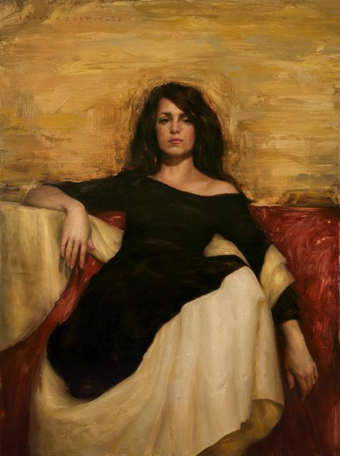 , 'Woman in Black,' , Sirona Fine Art