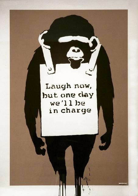 Banksy, 'Laugh Now', 2003, Taglialatella Galleries
