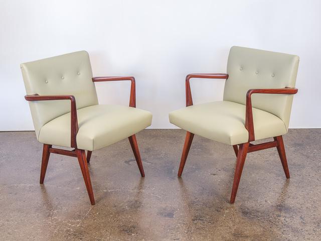 , 'Model 108 Walnut Side Chairs,' ca. 1950, Open Air Modern